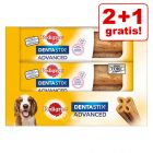 2 + 1 på köpet! 3 x Pedigree Dentastix Advanced