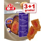 3 + 1 på köpet! 8in1 Fillets Pro 4 x 80 g
