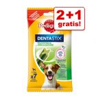 2 + 1 zdarma! 3 x 7 ks Pedigree Dentastix Fresh