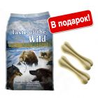 6 кг Taste of the Wild + 2 x 23 г Hunter Calcium Milk Bone в подарок!