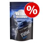 5 x 100 g Wild Freedom Filet Snacks zum Sparpreis