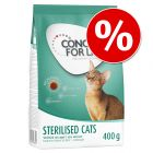 400 g Concept for Life Sterilised Cats za skvělou cenu!