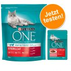 800 g Purina ONE Trockenfutter + 6 x 85 g Purina ONE Nassfutter