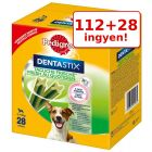 112+28 ingyen! 140 db Pedigree Dentastix Fresh