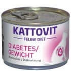 Kattovit Diabetes / Weight 6 x 175 г