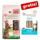 1,8 kg / 2 kg Applaws Katzenfutter + 8 x 7 g Applaws Puree Snacks gratis!