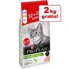 10 kg + 2 kg gratis! PURINA PRO PLAN Sterilised Adult