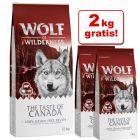 12 kg + 2 kg zdarma! 14 kg Wolf of Wilderness granule
