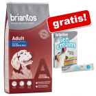 14 kg Briantos + snack Ice Cream gratis!