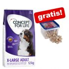 12 kg Concept for Life + 1 kg DogMio Mark Nuggets gratis!