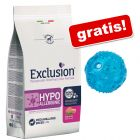 12 kg Exclusion Diet + Pallina in TPR con LED gratis!
