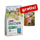 14 kg Purina Dog Chow + 5 Adventuros Sticks zdarma!