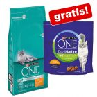 6 kg Purina One kattfoder + 1,4 kg Purina ONE Dual Nature på köpet!