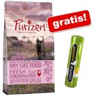 6,5 kg Purizon Adult/Kitten hrană uscată + 26 g Cosma snackies gratis!