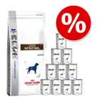 14 kg Royal Canin Veterinary Diet - Gastro Intestinal GI 25 + Gastro Intestinal, 12 x 400 g