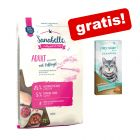 10 kg Sanabelle + My Star is a Champion losos Creamy Snack gratis!