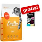 4 kg Smilla + 8 x 10 g Tigeria Milk Cream miks gratis!