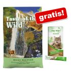 2 kg Taste of the Wild + My Star is a Rocker - Rață cu mere Creamy Snack Superfood!