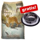 7 kg Taste of the Wild + un bol antiderapant gratis!