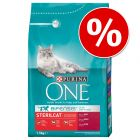 10% korting! 3 kg Purina ONE Droogvoer