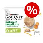 20% korting! 12 x 85 g Gourmet Nature's Creation