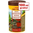 100 ml gratis! sera Wels Chips pokarm w tabletkach, 250 ml