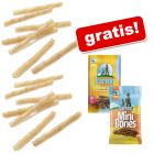 100 pz Barkoo Stick arrotolati + 7 Dental Snack & 200 g Mini Bones gratis!