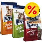 3 Sorten Happy Cat Supreme Adult im Mix