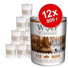 Экономупаковка Wolf of Wilderness 12 x 800 г