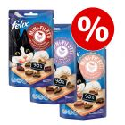 3 x  40 g Felix Mini Filetti im leckeren Snack-Paket