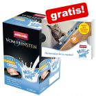 6 x 100 g Animonda Vom Feinsten Adult Milkies + 4 x 15 g Milkies Snacks gratis!