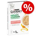 5 x 10 g Gourmet Nature's Creations Snack  w super cenie!