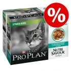 20 x 85 g Purina Pro Plan Nutrisavour Sterilised erikoishintaan!