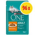 96 x 85 g Super-Sparpaket: Purina ONE
