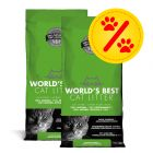 2 x 12,7 kg Sparpaket: World's Best Cat Litter Katzenstreu
