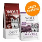 2 x 1 kg Wolf of Wilderness Trockenfutter Mix zum Probierpreis