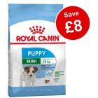 2 x Big Bags Royal Canin Dry Puppy Food - £8 Off!*