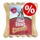 18 x 12cm Barkoo Filled Chew Bones – Special Price!*
