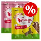 4 x Feringa Cat Sticks Treats + 2 Sticks Free!*