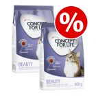 2 x 400g Concept for Life Dry Cat Food - Buy One Get One Free!*