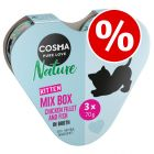 6 x 70g Cosma Nature Kitten Heart Box - Special Price!*