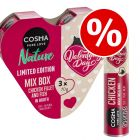 3 x 70g Cosma Nature Valentines + 26g Valentines Snackies - Bundle Price!*