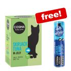 24 x 100g Cosma Pouches Wet Cat Food + Cosma Snackies Winter Edition Free!*