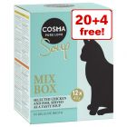 24 x 40g Cosma Soup Wet Cat Food - 20 + 4 Free!*