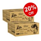 240 x 100g Felix As Good As It Looks Wet Cat Food - 20% Off!*