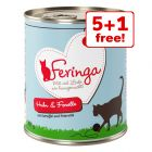 6 x 800g Feringa Classic Meat Menu Wet Cat Food - 5 + 1 Free!*