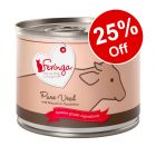 6 x 200g Feringa Pure Meat Menu Wet Cat Food - 25% Off!*