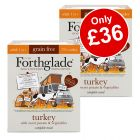 36 x 395g Forthglade Grain Free Wet Dog Food - Only £36!*