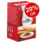 6 x 50g Gourmet Mon Petit Wet Cat Food - 20% Off!*