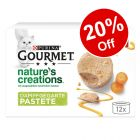 12 x 85g Gourmet Nature's Creations Pâté Wet Cat Food - 20% Off!*